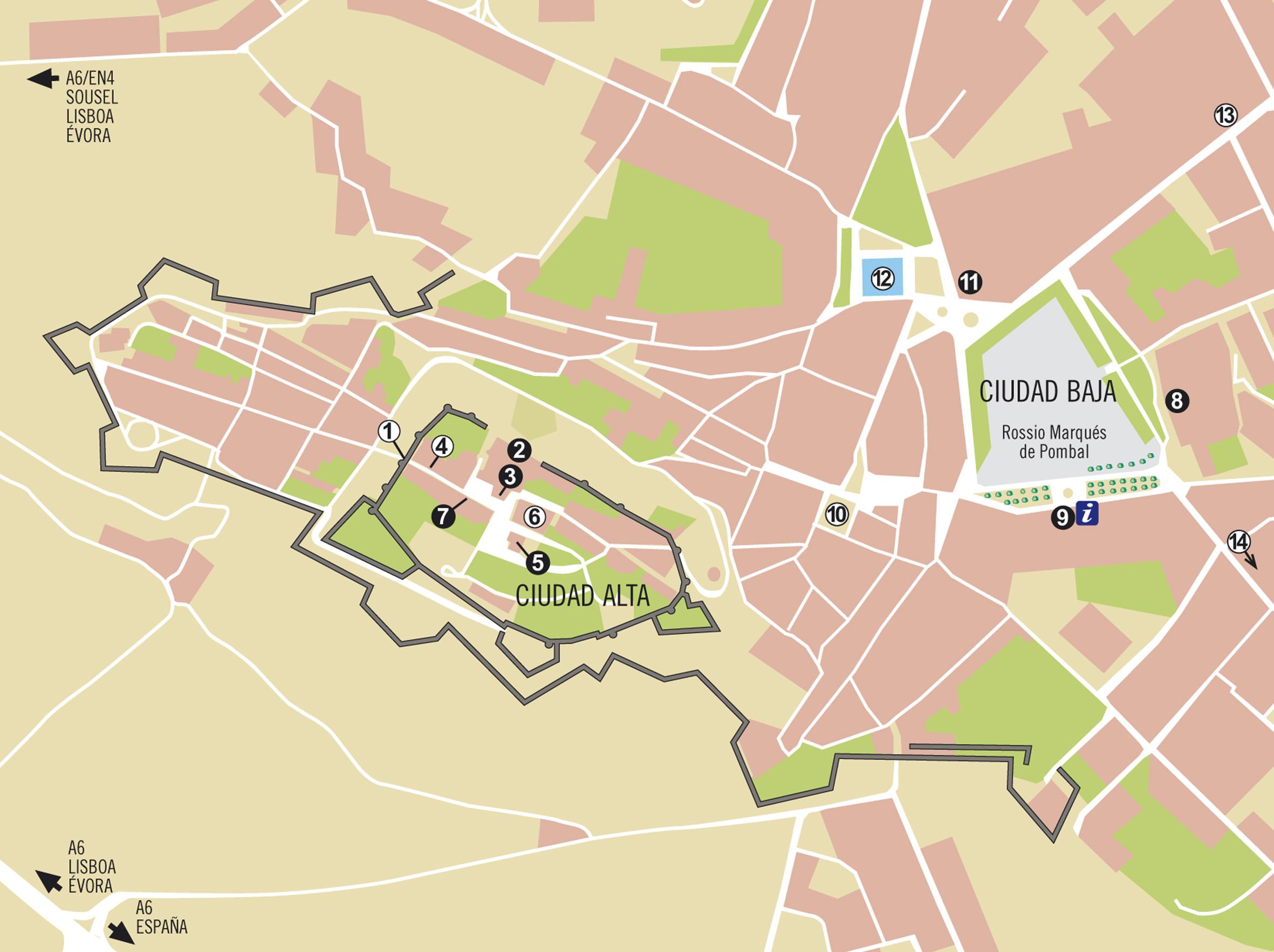Mapas Evora
